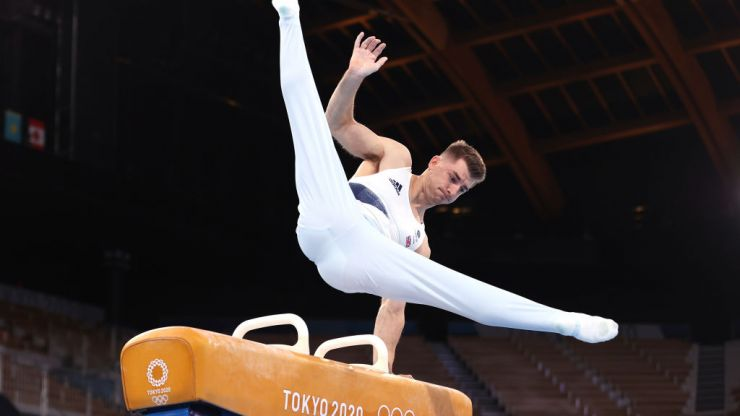 Max Whitlock retains his Olympic title in the men's pommel horse