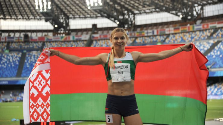 Belarus Olympian safe under police protection in Tokyo after refusing 'forced' flight home