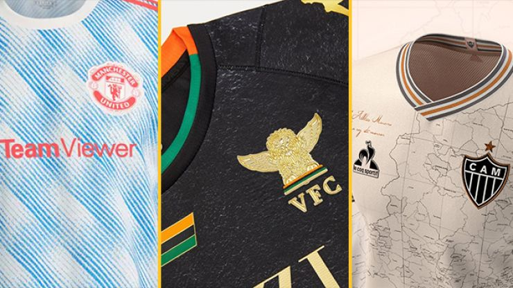 A ranking of 9 of the best new football shirts for the 2021/22 season