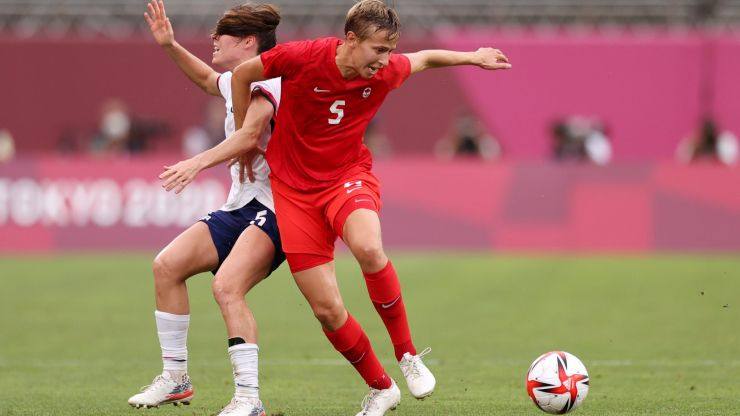 Tokyo 2020: Footballer guaranteed to be first trans and non-binary athlete to win Olympic medal