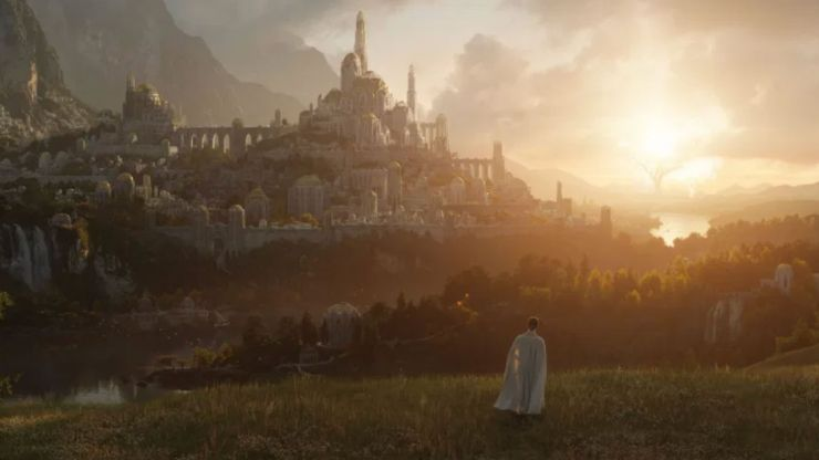 The Lord of the Rings Amazon series sets release date and releases first image