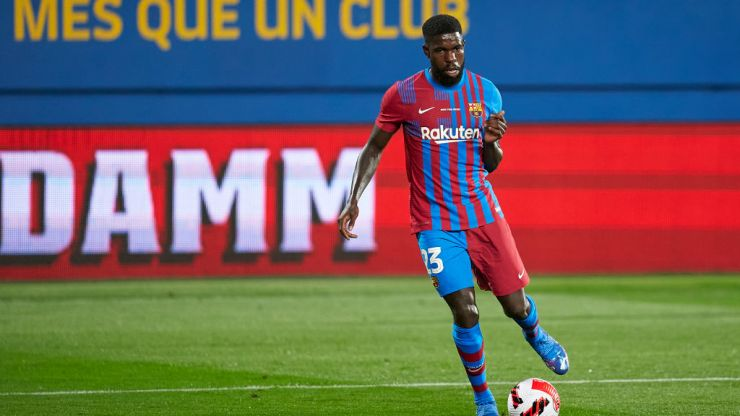 Umtiti skipped trophy celebrations after being booed by Barcelona fans