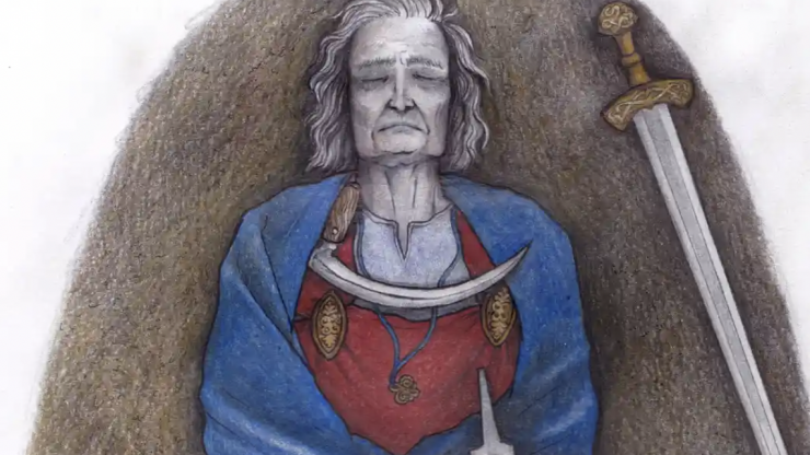 1,000-year-old remains may be non-binary iron age leader