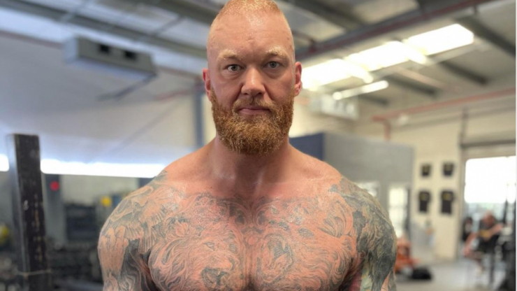 The Mountain shows off incredible 50kg body transformation ahead of next fight