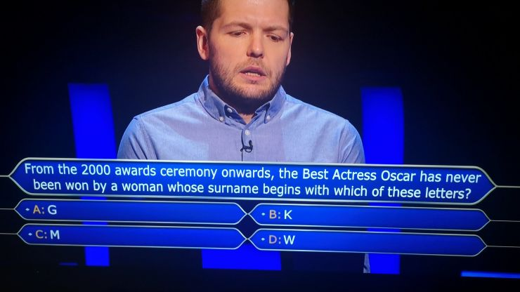 Who Wants to Be a Millionaire? Viewers complain about 'worst ever' £64K question