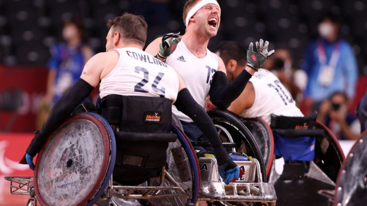 Tokyo Paralympics: Gold in the wheelchair rugby as Team GB continue to sweep up medals