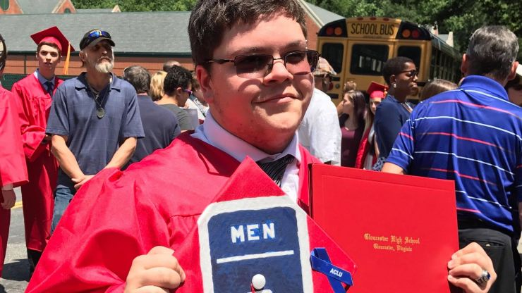 School ordered to pay $1.3million to transgender student after refusing him bathroom access