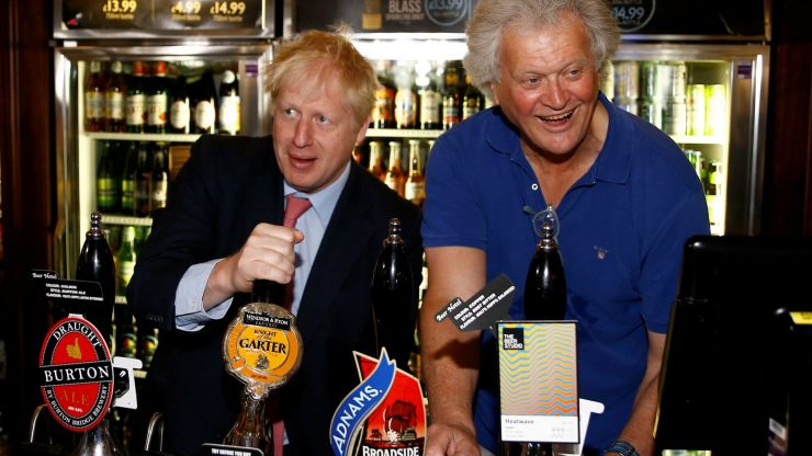 Tim Martin is getting roasted on Twitter after Wetherspoons runs out of beer
