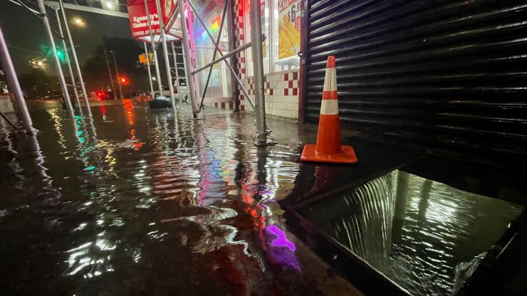 State of emergency in New York amid 'historic' flooding
