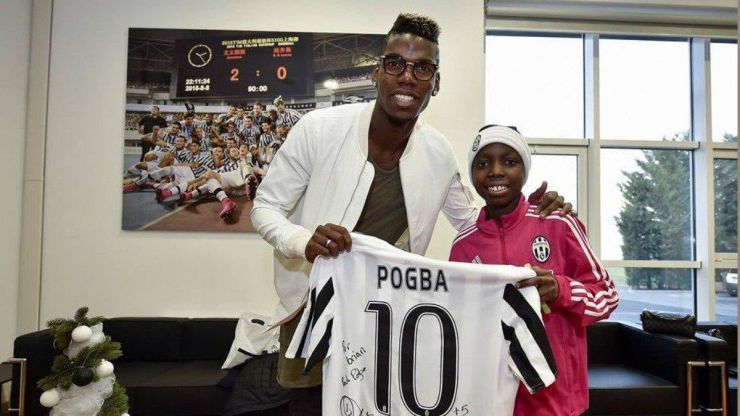 Paul Pogba posts tribute to Juventus player Bryan Dodien after his death