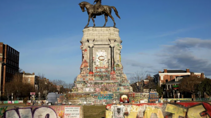 Largest Confederate monument in US set to be removed this week