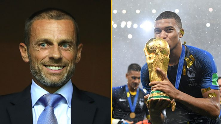 UEFA threatens European and South American boycott of biennial World Cup