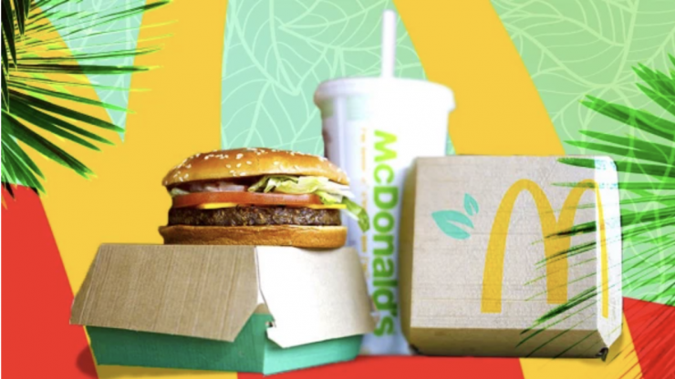 McDonald's launches meat-free burger that tastes like real beef