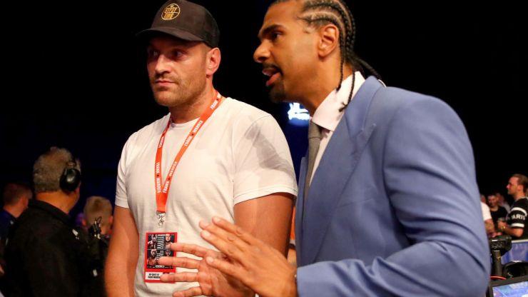 David Haye calls out Tyson Fury after comeback win against Joe Fournier
