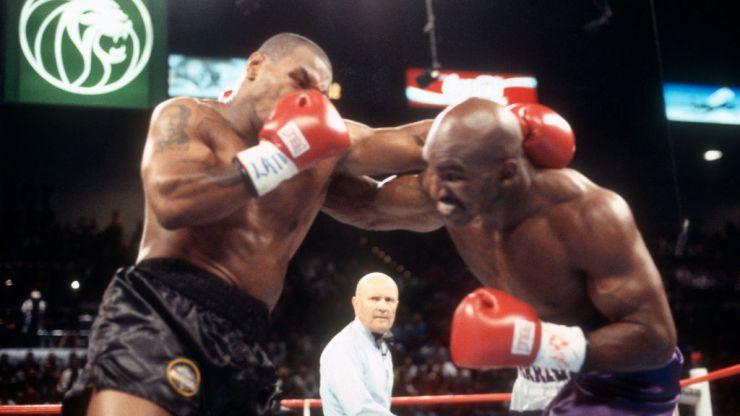 Evander Holyfield still wants to fight Mike Tyson despite first-round TKO