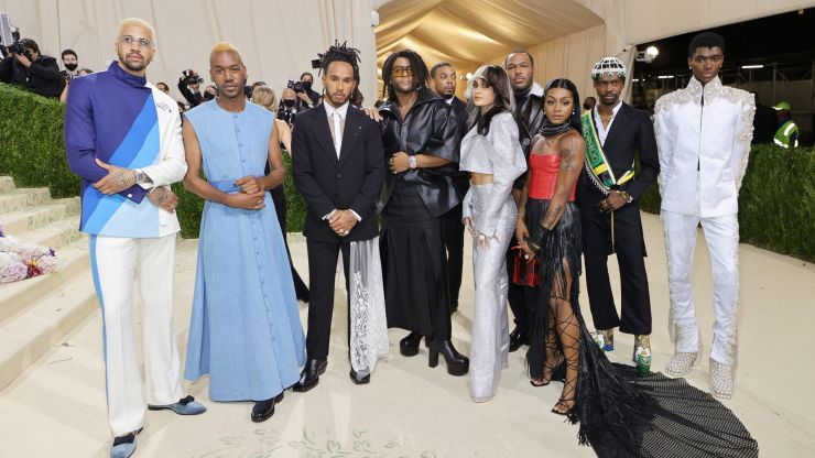 Lewis Hamilton bought a whole table at the Met Gala to showcase young Black designers