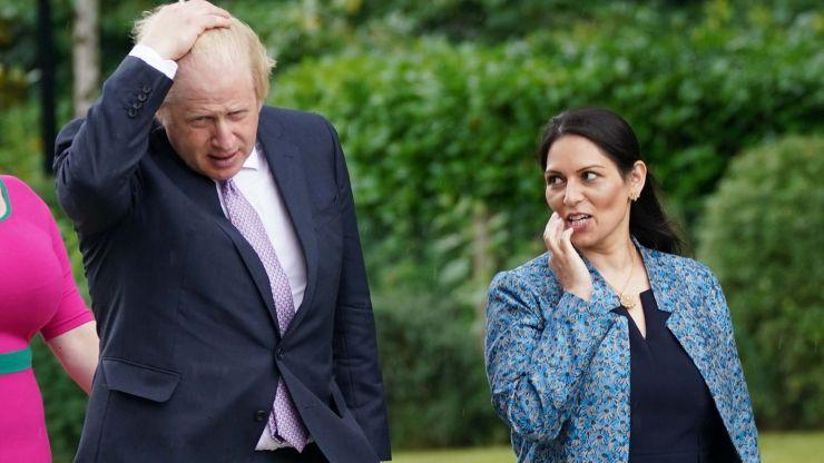 Priti Patel stays on as Home Secretary as Boris Johnson launches major reshuffle