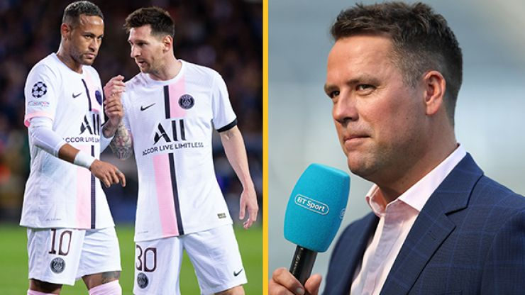 Michael Owen claims PSG are a weaker team because of Lionel Messi