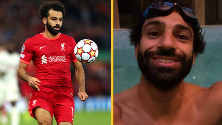Mohamed Salah goes above and beyond with 3am recovery session after AC Milan win