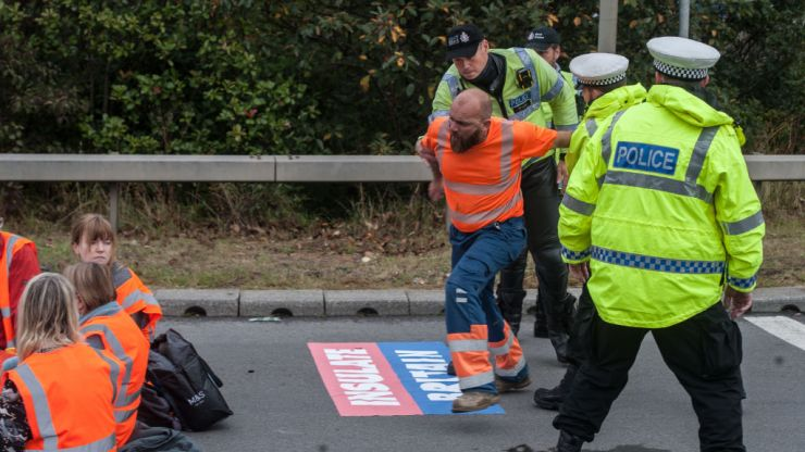 Mum paralysed by stroke after M25 protest delayed trip to hospital by six hours