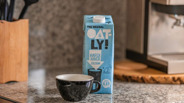 One in three Brits now drink plant-based milk