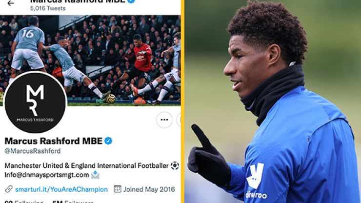 Marcus Rashford's use of social media to be studied by GCSE media students