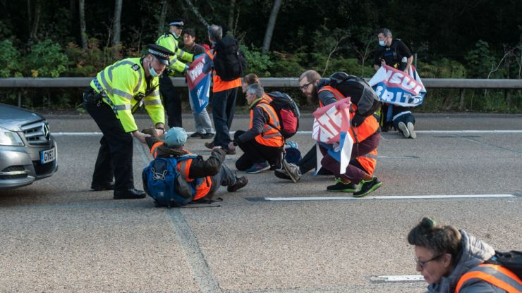 Insulate Britain protestors face imprisonment after judge grants injunction