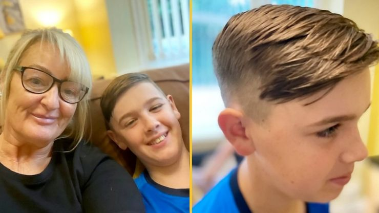Schoolboy put in isolation because 'one inch of haircut is too short'