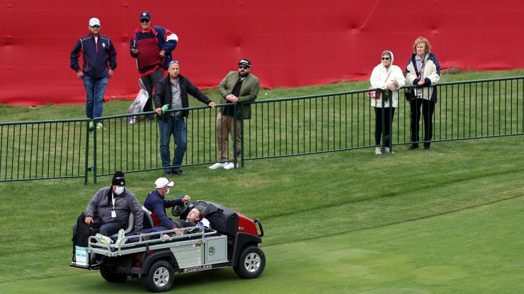 Harry Potter star Tom Felton collapses during celebrity golf match