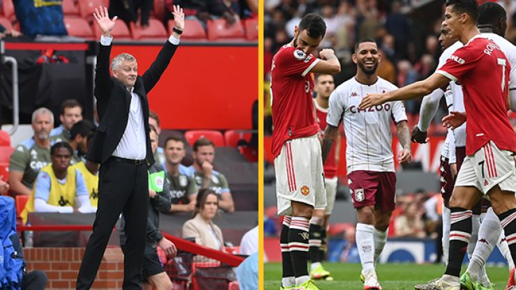 Solskjaer claims Villa winner was offside and takes aim at away side