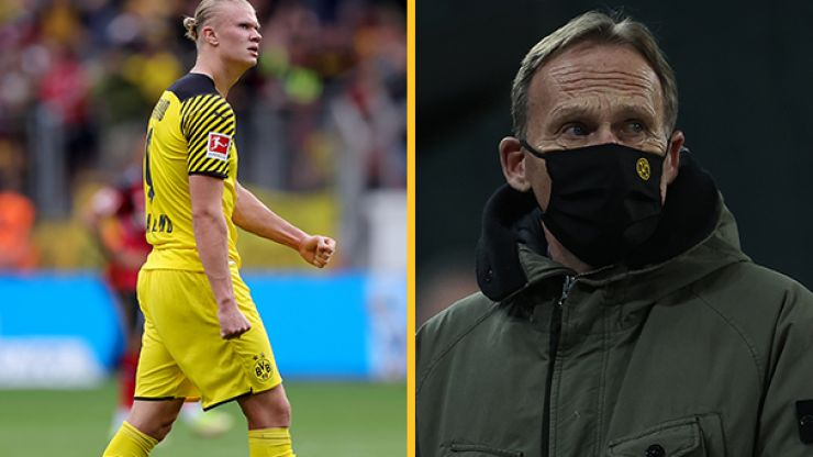 Borussia Dortmund CEO issues explicit response to Erling Haaland transfer suggestion