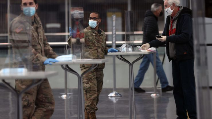 New York could use National Guard to replace unvaccinated health workers