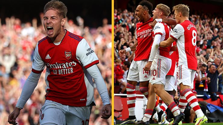 Aubameyang wants kids to follow in the footsteps of Emile Smith Rowe