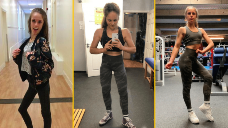 How bodybuilding saved a law grad from a decade-long eating disorder battle