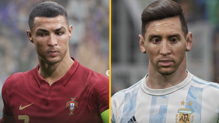 PES players can't get over the player faces in new eFootball game