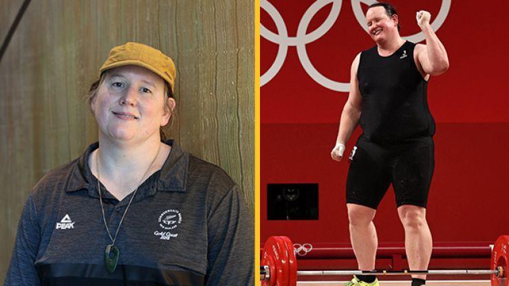 Transgender weightlifter Laurel Hubbard named sportswoman of the year in New Zealand