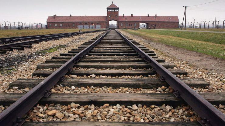 Anti-Semitic graffiti found at Auschwitz death camp