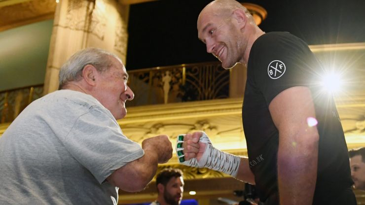 Tyson Fury's promoter slams Kate Abdo for suggesting Fury and Wilder face-off