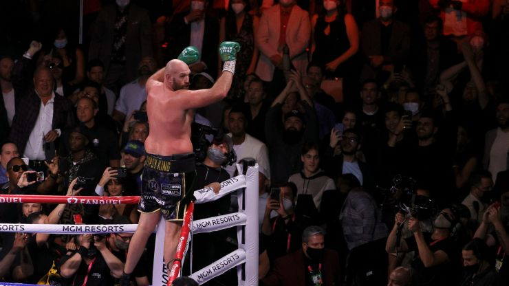Fury accuses Wilder of not wanting to show respect after knockout win
