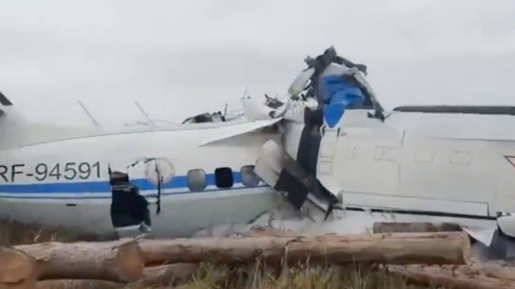 16 dead and six injured in Russian plane crash
