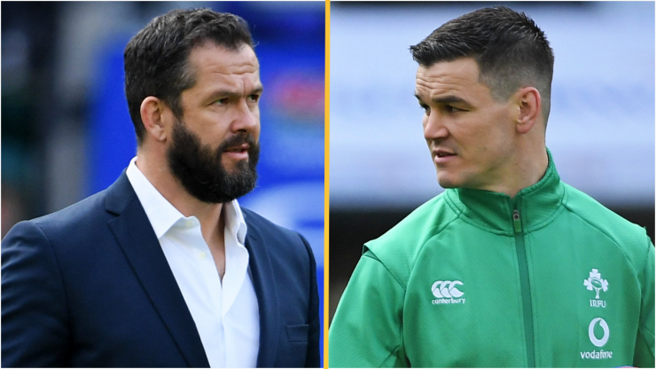 Andy Farrell facing huge Johnny Sexton decision, and it's far from easy