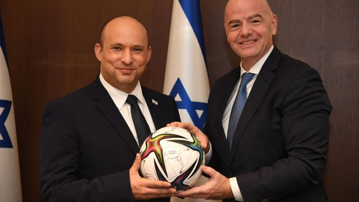 FIFA President open to World Cup co-hosted by Israel and Palestine