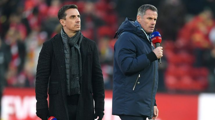 Jamie Carragher calls out Solskjaer bias from Neville and Keane