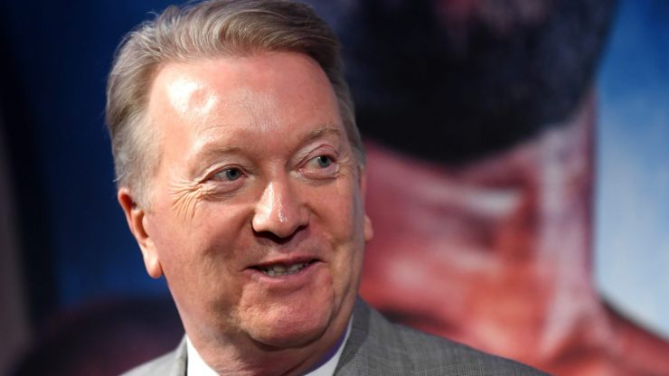 Frank Warren wants Joshua to step aside and allow Fury vs Usyk