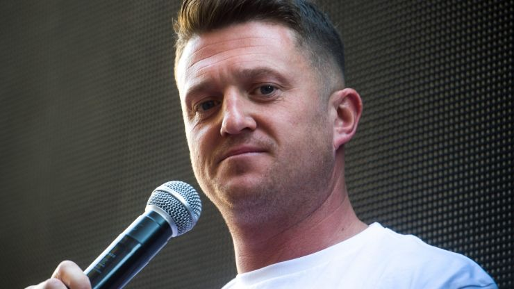 Tommy Robinson gets five-year stalking ban after journalist harassment