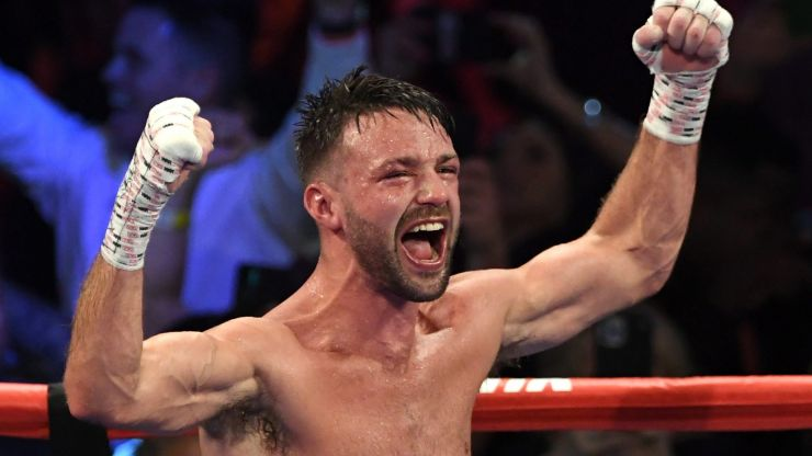 Deontay Wilder labeled a f*ing d***head by light-welterweight champion Josh Taylor