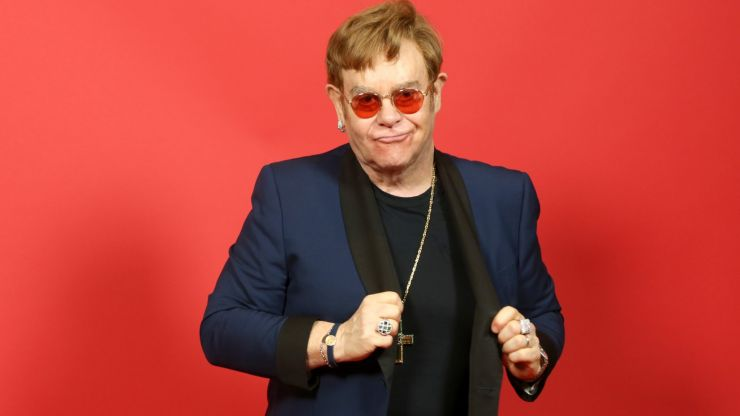 Elton John secures first number one in 16 years
