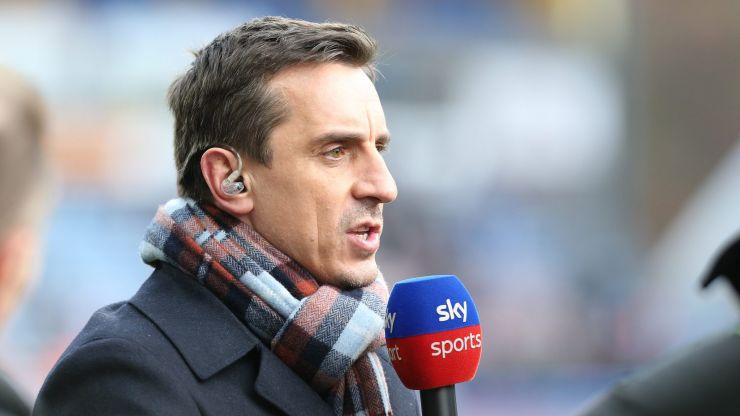 "Gary Neville describes Man Utd as ""shoddy, scrappy and scruffy"""