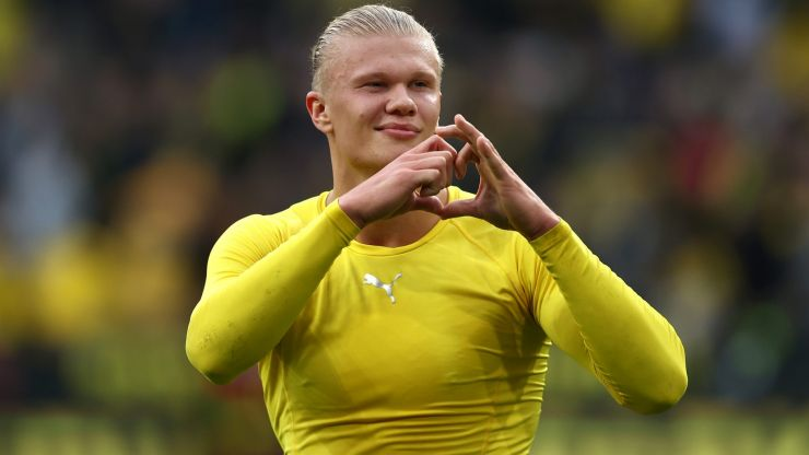Newcastle are being linked with Erling Haaland move, because of course they are