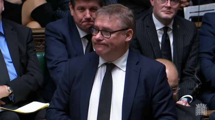 Tory MP Mark Francois gives tearful tribute to his best friend Sir David Amess